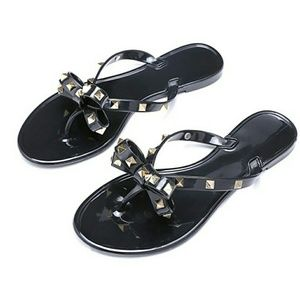 Rockstud Jelly Sandals